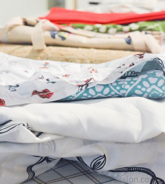 Wash all linens before sorting