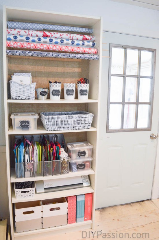 Diy gift wrap organizer ikea hack diy passion make your own wrapping paper storage unit with solutioingenieria Choice Image
