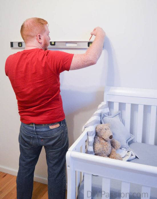 How to Hang an Alphabet Wall - Use a Level