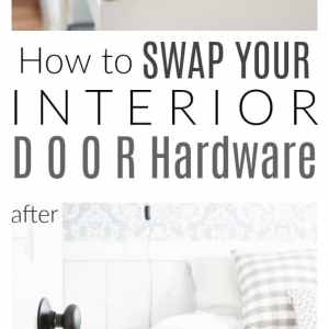 How to swap your interior door hardware