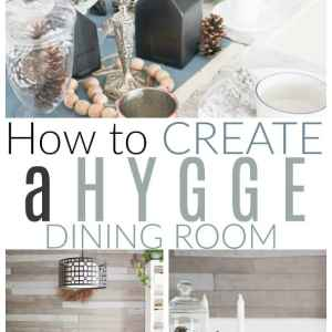 hygge dining room