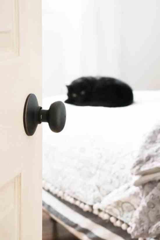 How to install new door knobs on interior doors