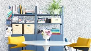 Bright Blue Ikea Ivar Hack