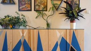 Painted Ikea Ivar Sideboard