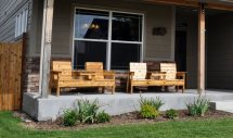Free Patio Chair Plans - Build Double Bench