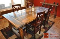 Homemade Rustic Tables - Best House Interior Today
