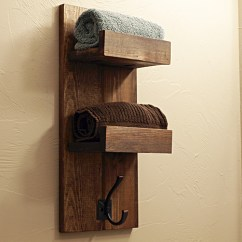 Pallet Wood Chair Rail What Is A Shower How To Make Wooden Towel Rack