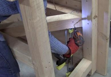 How To Build A Farmhouse Table Diy Pete
