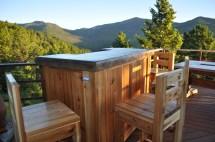Patio Bar Plans - Concrete Counter And Cedar Base