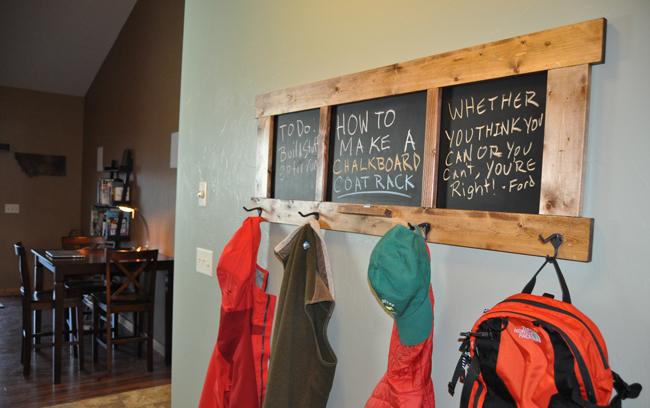 wood patio chair plans swing cheap diy chalkboard coat rack project