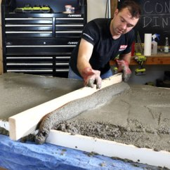 Concrete Kitchen Table Modern Sink Faucets Diy Dining Pete Project