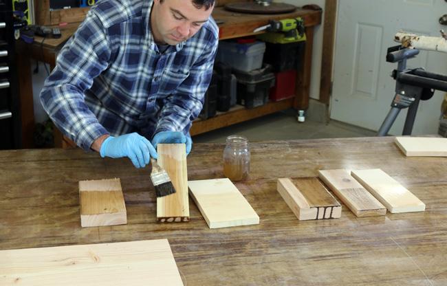 Steel Wool And Vinegar Stain On Oak