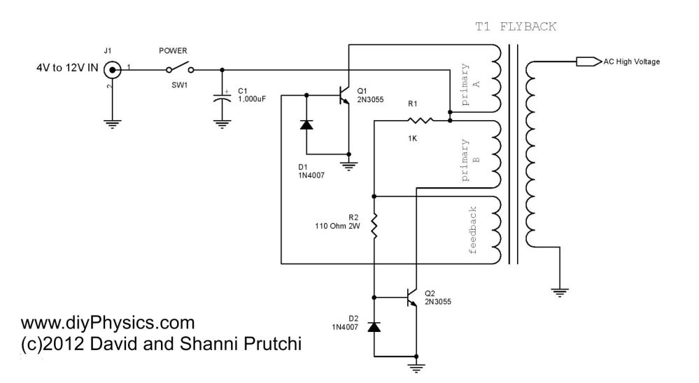 medium resolution of high voltage ac driver for 250 kv dc power supply by david and shanni prutchi