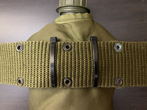Zip tie replaces ALICE clip