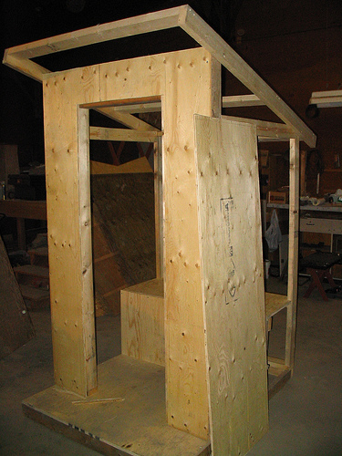 Outhouse Construction  DIY and Repair Guides