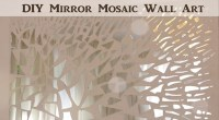 Diy Mirror Mosaic Wall Art - Diy (Do It Your Self)