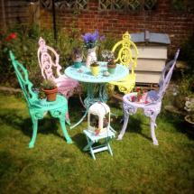 Garden Furniture Painting Workshop