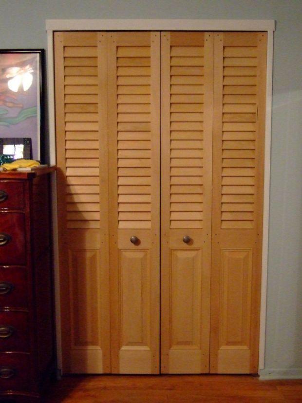 Closet Folding Doors Home Design Ideas
