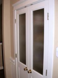 Glass Inserts For Custom Interior Doors