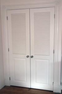 Plantation Shutter Closet Doors