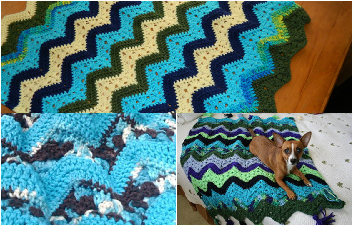 6Day Kid Blanket  free pattern  Diy Smartly
