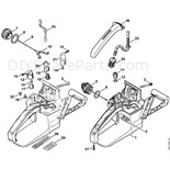 Stihl 036 Chainsaw (036) Parts Diagram