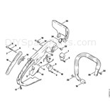 Stihl 015 Chainsaw (015AV) Parts Diagram