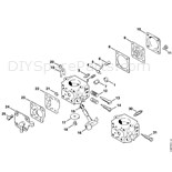 Stihl 028 Chainsaw (028WB) Parts Diagram, Chain Cover
