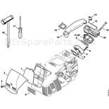 Stihl 019 T Chainsaw (019T) Parts Diagram
