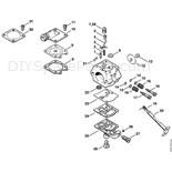 Stihl 026 Chainsaw (026) Parts Diagram