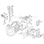 Stihl 032 AV Chainsaw (032AV) Parts Diagram