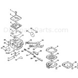 Stihl 034 Chainsaw (034) Parts Diagram