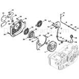 Stihl 020 Chainsaw (020T) Parts Diagram