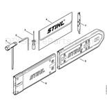Stihl 024 Chainsaw (024SW) Parts Diagram