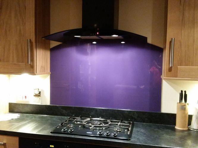 Coloured Glass Splashbacks Image Gallery