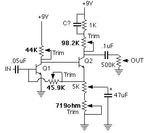 Simple Fuzz Schematic, Simple, Free Engine Image For User