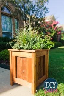 Diy Cedar Planters Swank