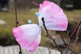 påskpyssla fjärilar
