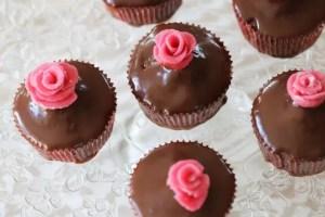 rosendals chokladmuffins