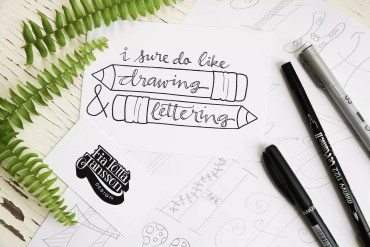 Workshop i Lettering
