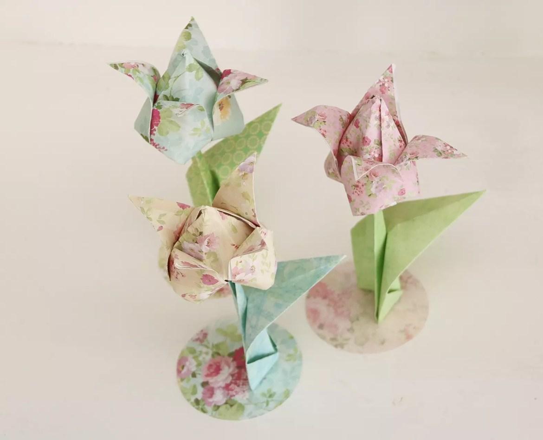Tulpaner origami
