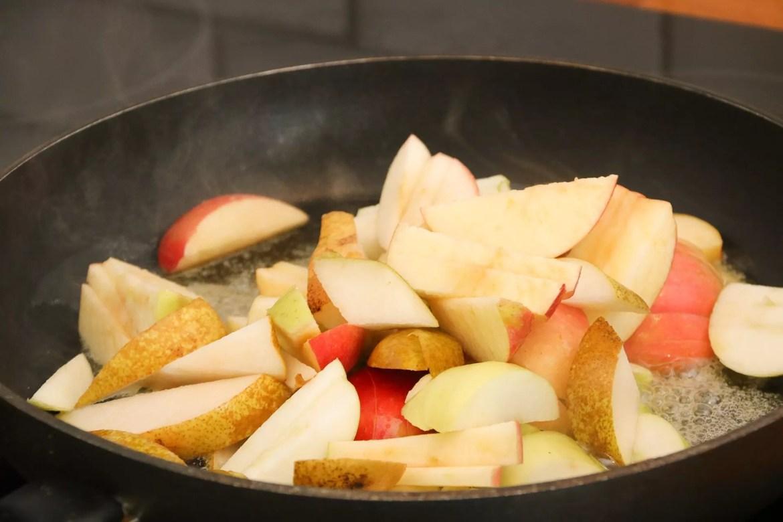 Äppelpaj med lock