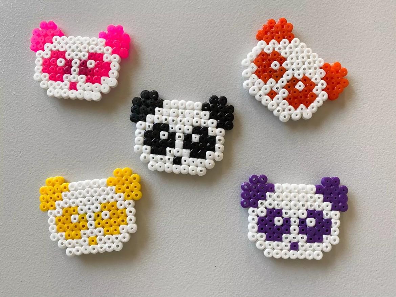 Panda pärlplatta