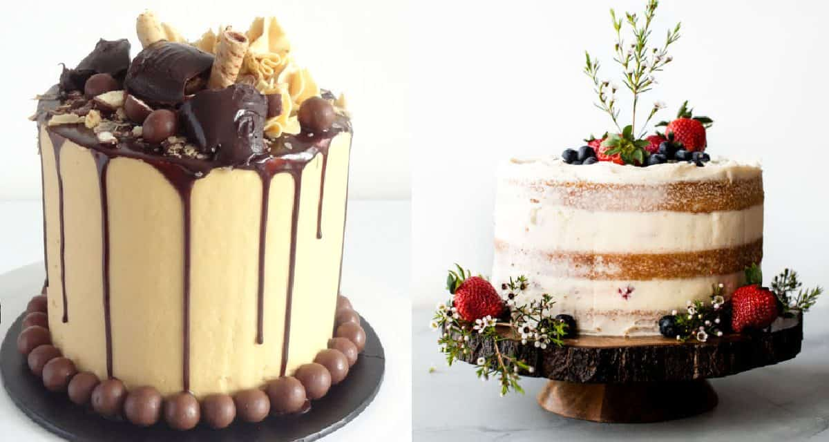 6 Simple Yet Beautiful Cake Decorating Techniques Diy Thought