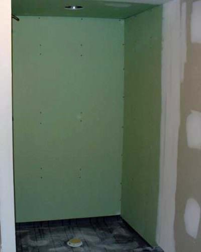Drywall Showers and other Bad Ideas What not to do