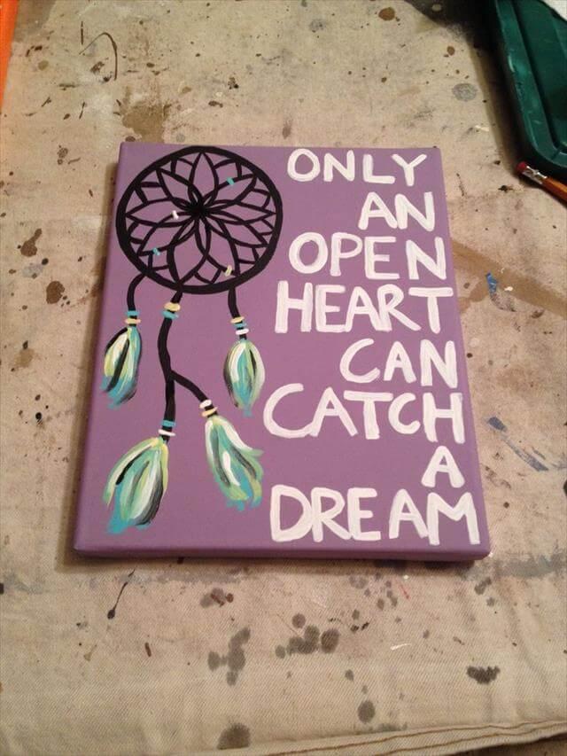 10 easy diy canvas