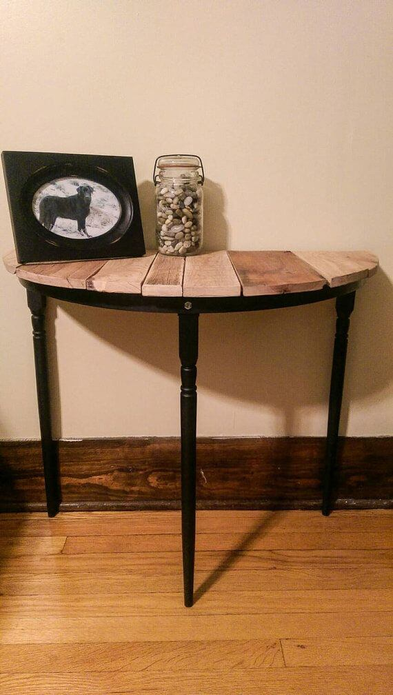 small wood kitchen table moen faucet 10 diy entryway decor and storage ideas | to make