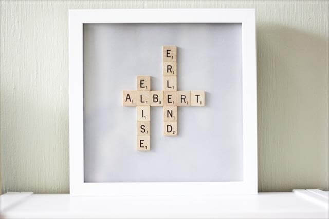 13 DIY Fun Projects Using Scrabble Pieces  DIY to Make