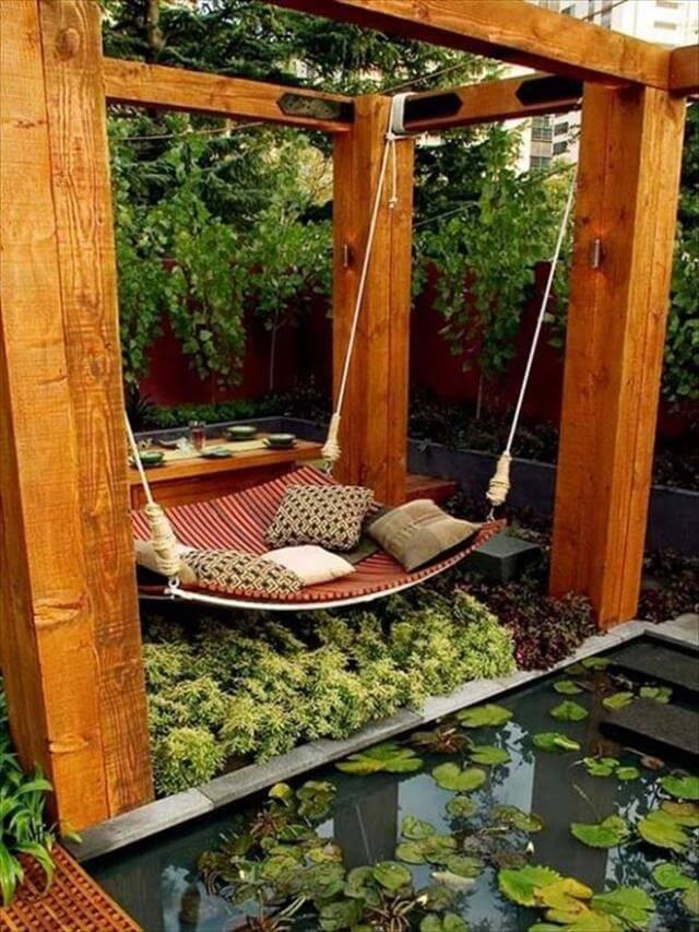 diy garden idea for