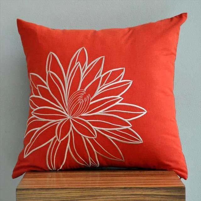 10 DIY Ideas Decorative Throw Pillows  Cases